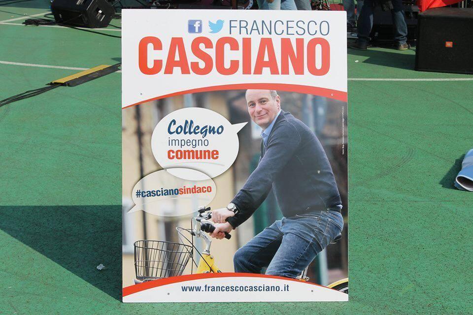 Amministrative 25 maggio: FRANCESCO CASCIANO SINDACO