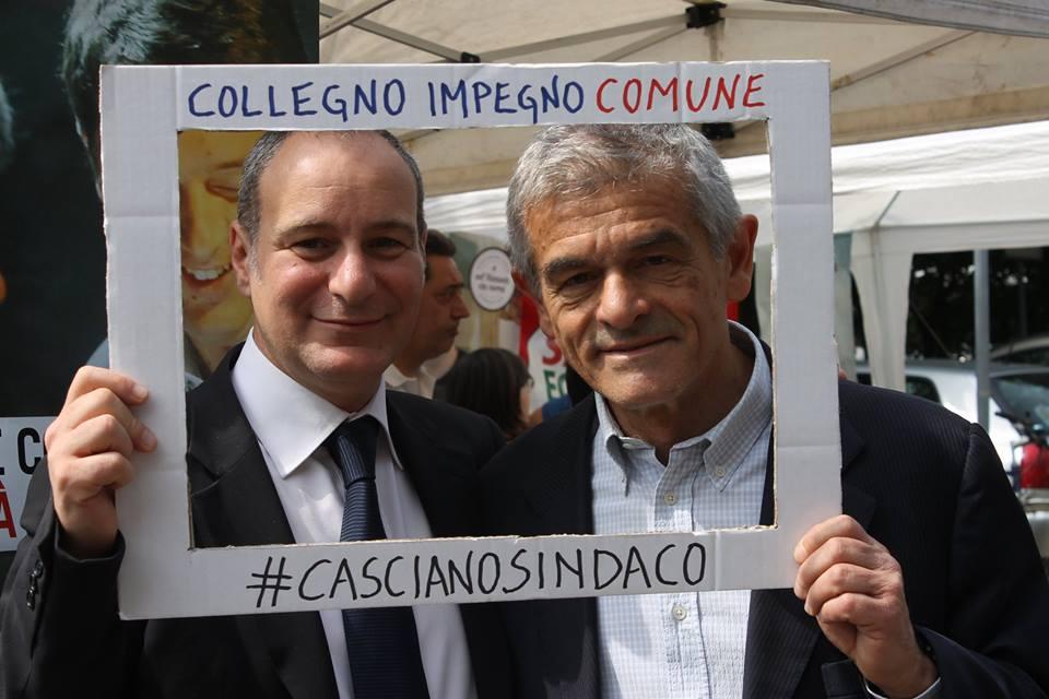 Sergio Chiamparino a Collegno