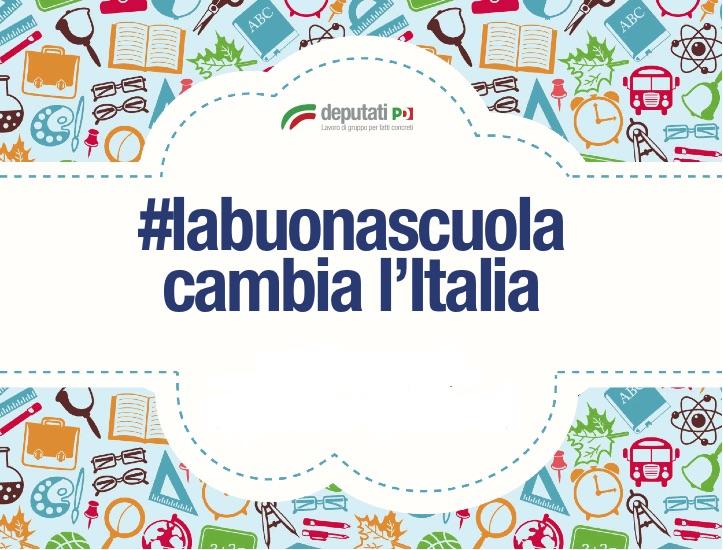 La buona scuola per cambiare l'Italia