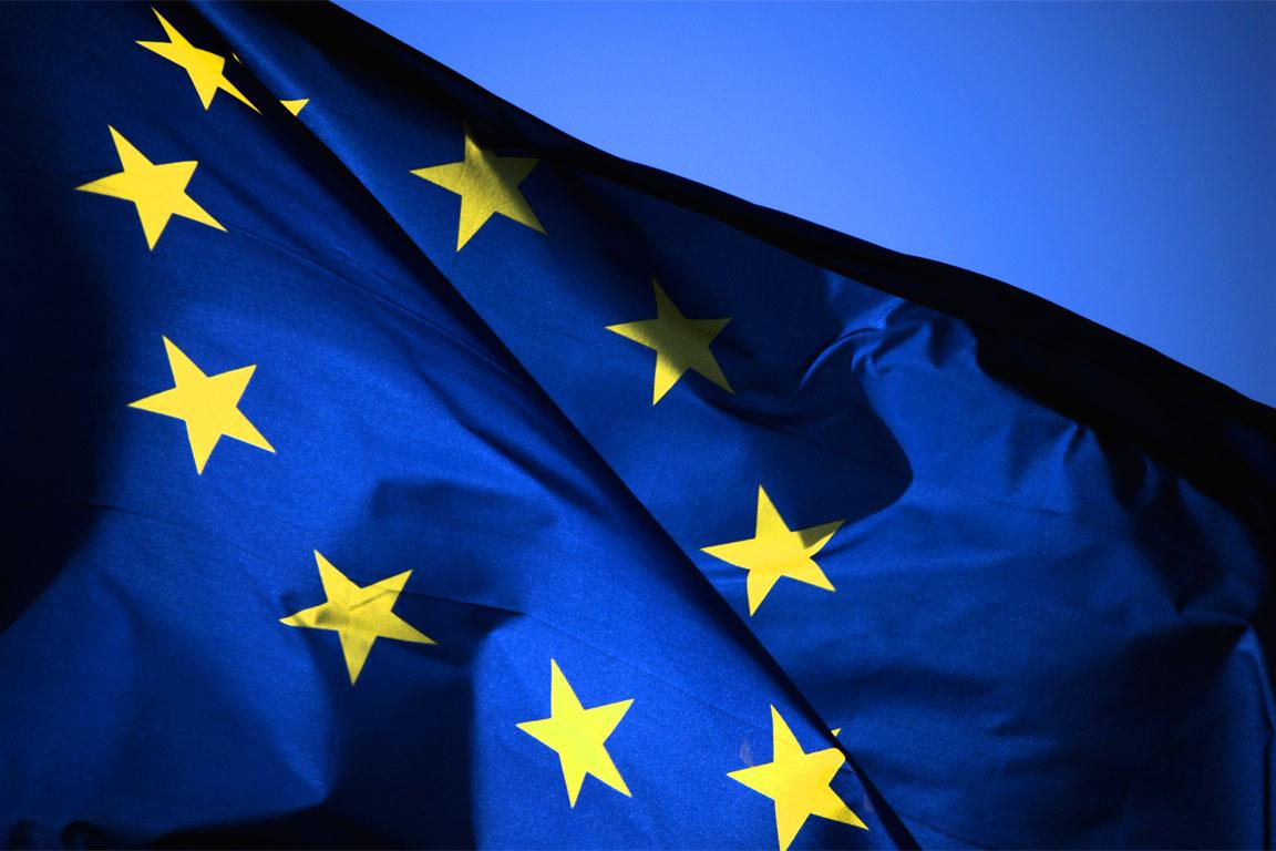 Due immagini dell'Europa