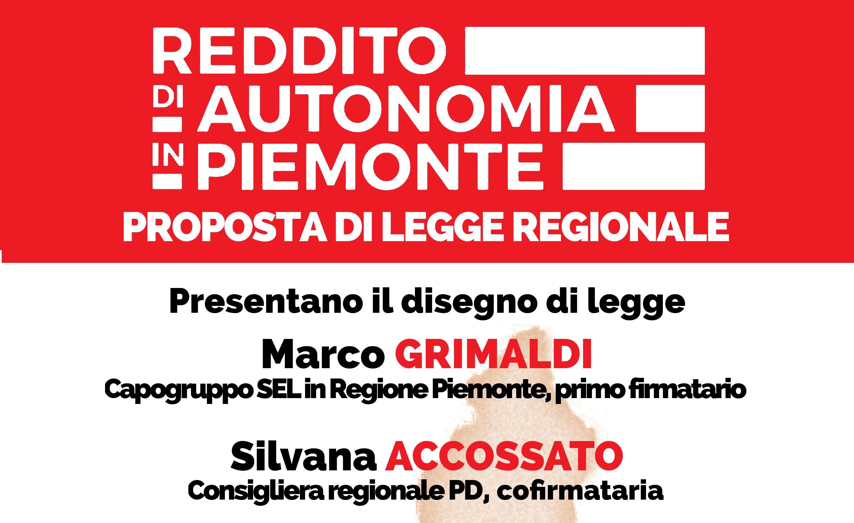 Reddito di autonomia: incontro il 16 novembre 2015 a Collegno